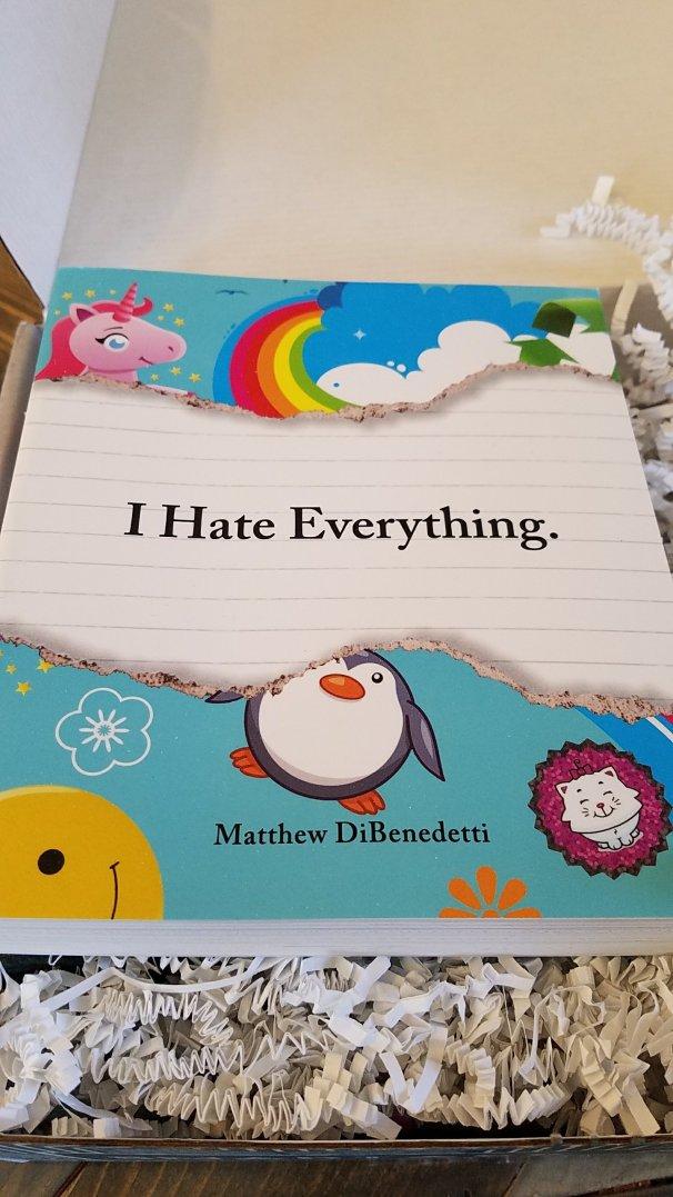 i hate everything dibenedetti matthew